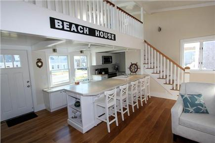 Sandwich Cape Cod vacation rental - Open Kitchen and Living
