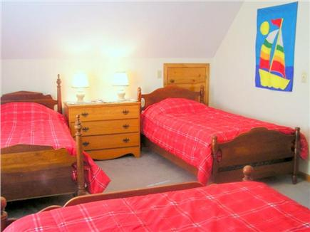 Eastham Cape Cod vacation rental - Guest Bedroom (Full and Twins)