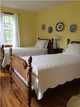 Truro Cape Cod vacation rental - Twin Bedroom ~ tall dresser & walk in closet