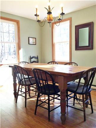Truro Cape Cod vacation rental - Dining Area seating for 6-8 people