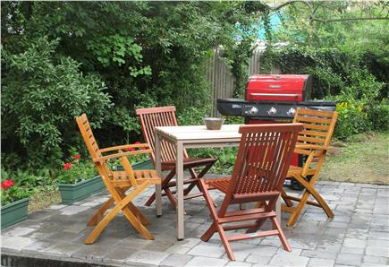 Harwich Cape Cod vacation rental - New patio in back yard.