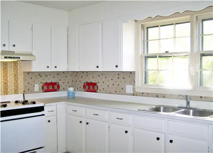 Harwich Cape Cod vacation rental - Bright large kitchen w/ brand new refrigerator