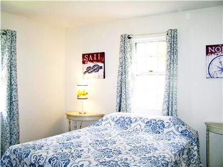 Harwich Cape Cod vacation rental - Nantucket style bedroom w/ A/C unit in window