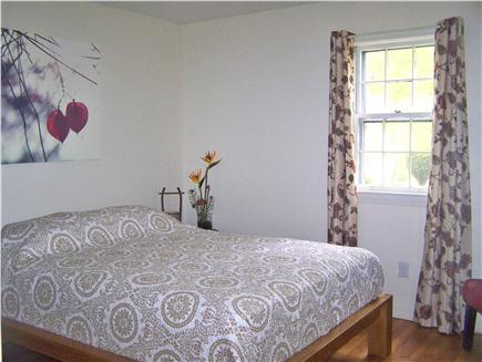 Harwich Cape Cod vacation rental - Japanese Tatami bed w/ A/C unit in window