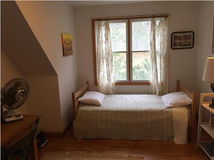 Wellfleet Cape Cod vacation rental - Upstairs study and sofa bed with trundle