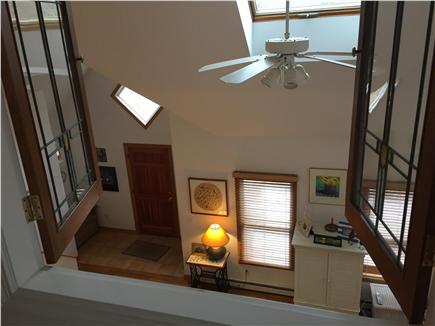 Wellfleet Cape Cod vacation rental - View from study to living room