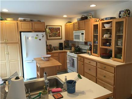 Wellfleet Cape Cod vacation rental - Kitchen and cabinets