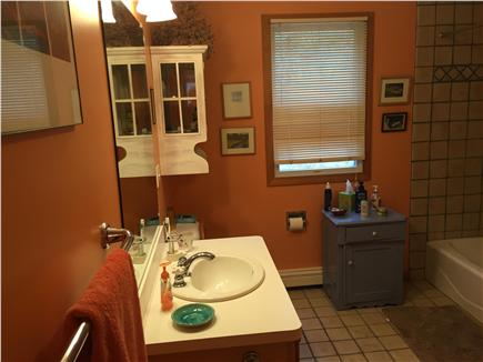 Wellfleet Cape Cod vacation rental - Downstairs bath with shower