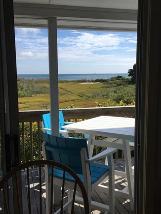 South Chatham Cape Cod vacation rental - Water view dining, in or out!