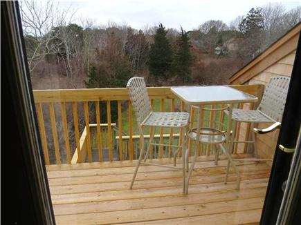 Eastham Cape Cod vacation rental - Enjoy coffee on your balcony while bird watching over the marsh