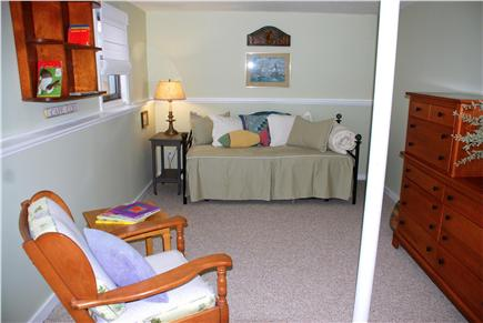 Eastham Cape Cod vacation rental - Downstairs bedroom with trundle bed and easy access to yard