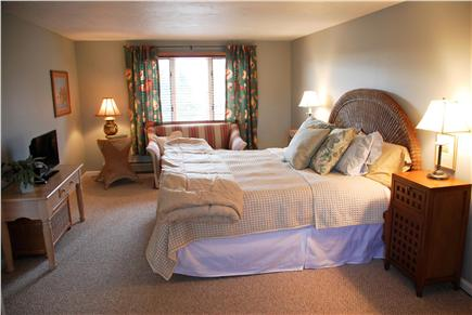 Eastham Cape Cod vacation rental - Largest bedroom with KIng bed, personal TV and  sitting area