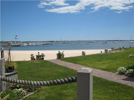 Hyannis Cape Cod vacation rental - This is the view from the ground floor deck.