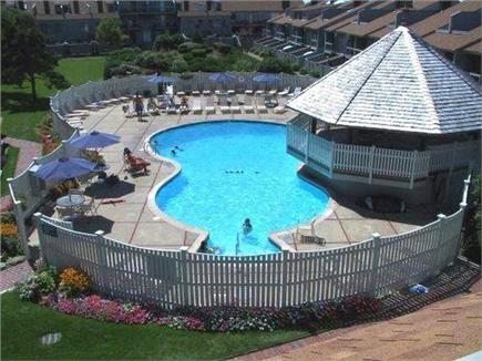 Hyannis Cape Cod vacation rental - The complex has a luxurious pool area