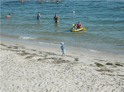 Harwich Port Cape Cod vacation rental - Beautiful, warm-water beach on Nantucket Sound steps away