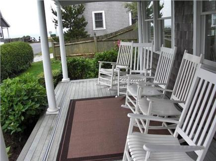 Harwich Port Cape Cod vacation rental - Front porch w/water views converts to screened porch