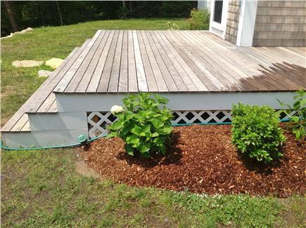 Cotuit Cotuit vacation rental - Front deck