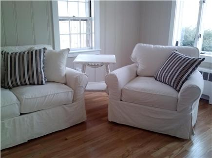 Cotuit Cotuit vacation rental - Loveseat and Chair before completely decorated
