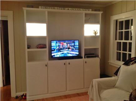 Cotuit Cotuit vacation rental - TV living room built in