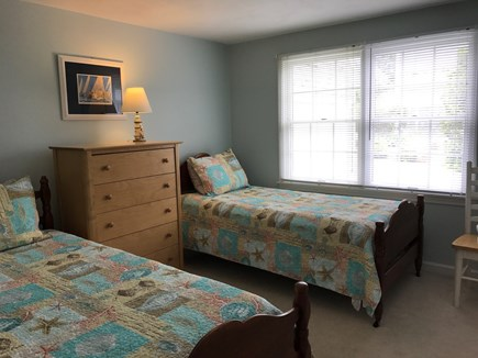 Eastham Cape Cod vacation rental - 2nd Bedroom with 2 twins - Main house