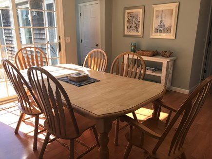 Eastham Cape Cod vacation rental - Dining room - main house