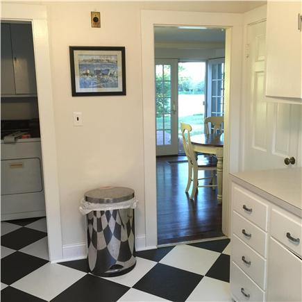 Falmouth Cape Cod vacation rental - Kitchen connects with dining room and laundry area/mudroom