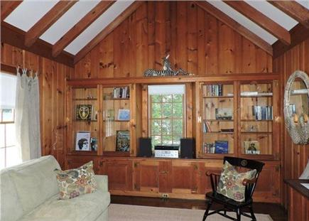 Falmouth Cape Cod vacation rental - Private den with stereo system and sleep sofa