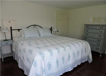 Falmouth Cape Cod vacation rental - First floor master bedroom with beautiful waterview