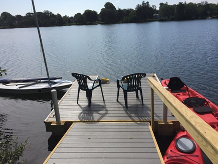 Falmouth Cape Cod vacation rental - Relax on the dock or go for a swim, sail, or paddle.