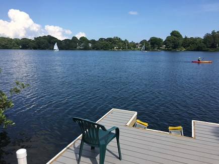 Falmouth Cape Cod vacation rental - Dock is perfect for launching a kayak or small sailboat!
