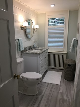 Falmouth Cape Cod vacation rental - Master bath.