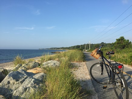 Falmouth Cape Cod vacation rental - Surf Drive beach and Shining Sea Bike Path are nearby