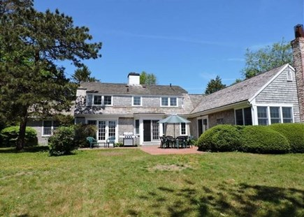 Falmouth Cape Cod vacation rental - Large private yard with patio and waterview of Siders Pond