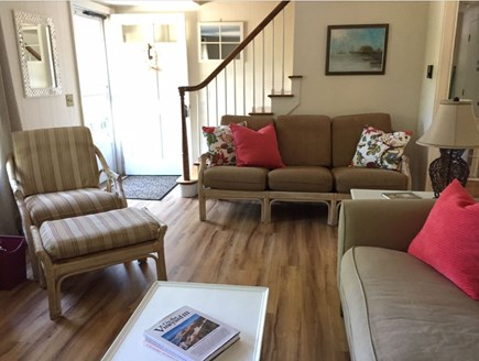 Orleans Cape Cod vacation rental - Living Room with 2 full size sofas and easy chair