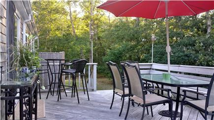 Orleans Cape Cod vacation rental - Large Sunny Deck for entertaining and sun bathing
