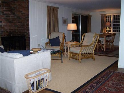 Wellfleet Cape Cod vacation rental - Living Room with dining area