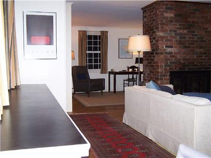 Wellfleet Cape Cod vacation rental - View from living room to small study