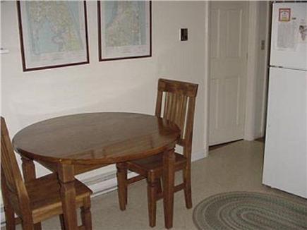Wellfleet Cape Cod vacation rental - Dining area in kitchen