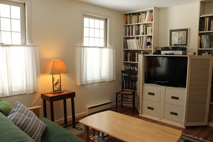 Wellfleet Cape Cod vacation rental - Library with Cable TV, WIFI, and Futon.