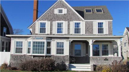 Falmouth Heights Cape Cod vacation rental - View of the house from the beach