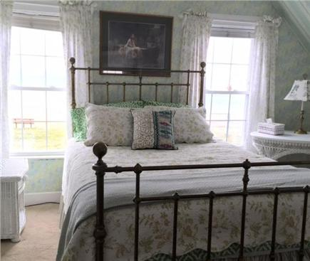 Falmouth Heights Cape Cod vacation rental - Master bedroom, Queen bed, beach views