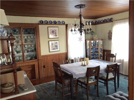 Falmouth Heights Cape Cod vacation rental - Dining Room, adjacent to kitchen and living room