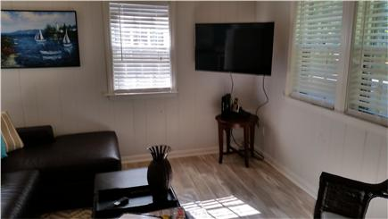 Falmouth Cape Cod vacation rental - The living room.  Relax and watch TV or talk with friends.