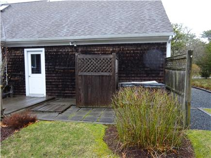 East Orleans Cape Cod vacation rental - Enclosed outdoor shower