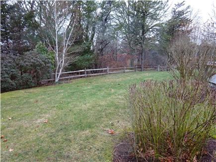East Orleans Cape Cod vacation rental - Yard