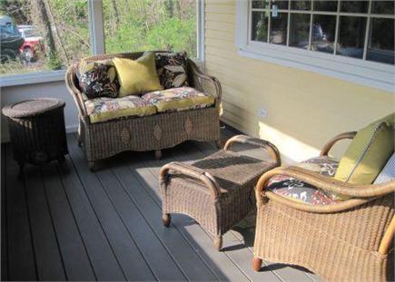 Dennis Village Cape Cod vacation rental - Screened Porch