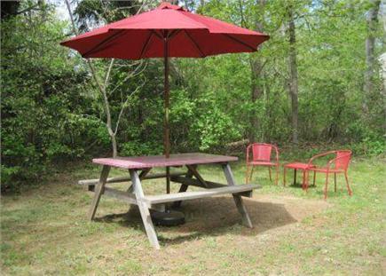 Dennis Village Cape Cod vacation rental - Back Yard