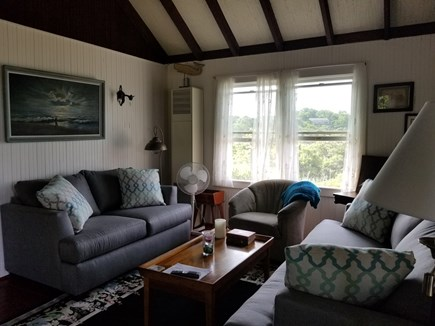 Eastham, bay side, Campground  Cape Cod vacation rental - Living room