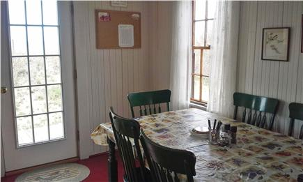 Eastham, bay side, Campground  Cape Cod vacation rental - Dining area