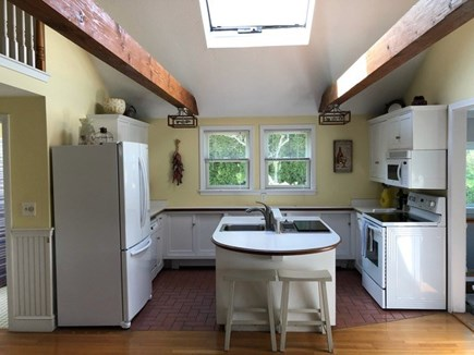 Centerville, Hyannis Port Cape Cod vacation rental - Bright, functional kitchen. Seating at the island.